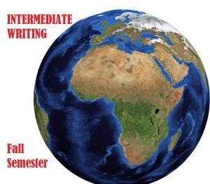 Intermediate Writing FALL Semester WORLD